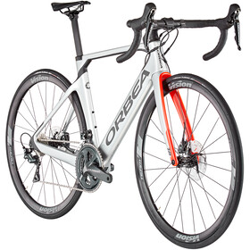 Orbea Orca Aero M20 Team, silver/bright red/carbon